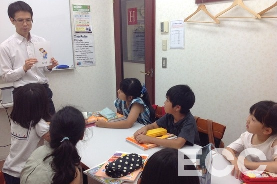 Picture cardsで新出・既出の単語を学びます。Let's say together!|天神イムズ校の子供英会話・小学生の英会話教室・スクール
